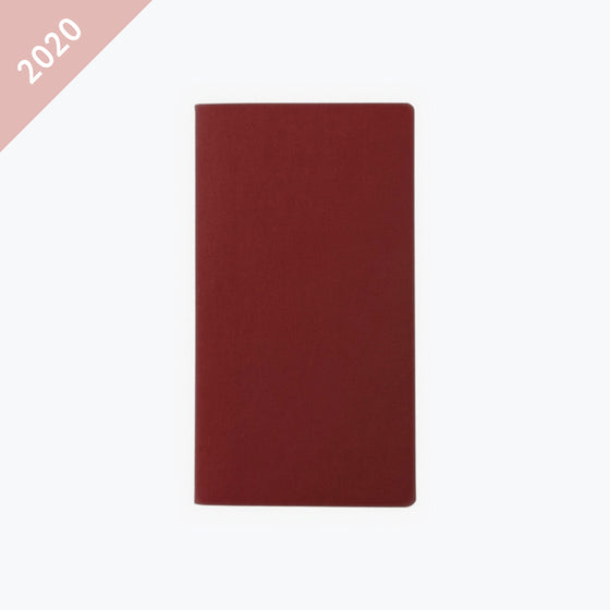 Daycraft - 2020 Diary - Signature - Pocket - Red
