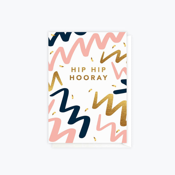 ELM Paper - Card - Birthday - Hooray Party