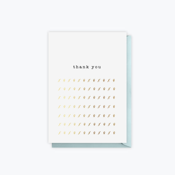 ELM Paper - Card - Thank You - Thank You XOXO