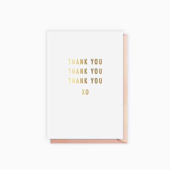 ELM Paper - Card - Thank You - Thank You XO