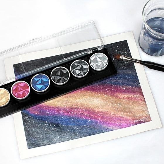 Finetec - Pearlcolor Set (6) - Galaxy (Limited Edition)