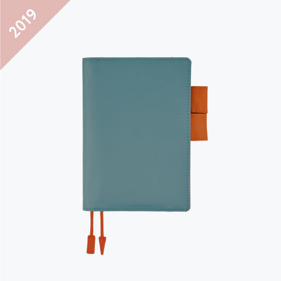 Hobonichi Techo - 2019 A6 Planner - Book+Cover - Summer Blue