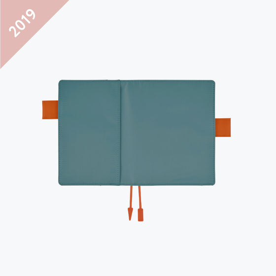 Hobonichi Techo - 2019 A6 Planner - Cover Only - Summer Blue