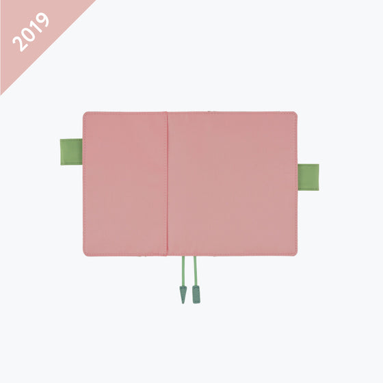 Hobonichi Techo - 2019 A6 Planner - Cover Only - Sugar Rose