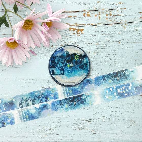 Round Top - Insomnia Design Washi Tape
