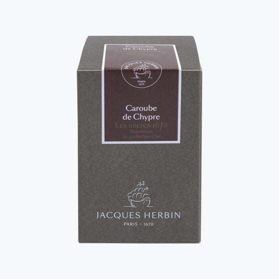 J. Herbin - Fountain Pen Ink - 1670 - Caroube de Chypre (Carob of Cyprus)