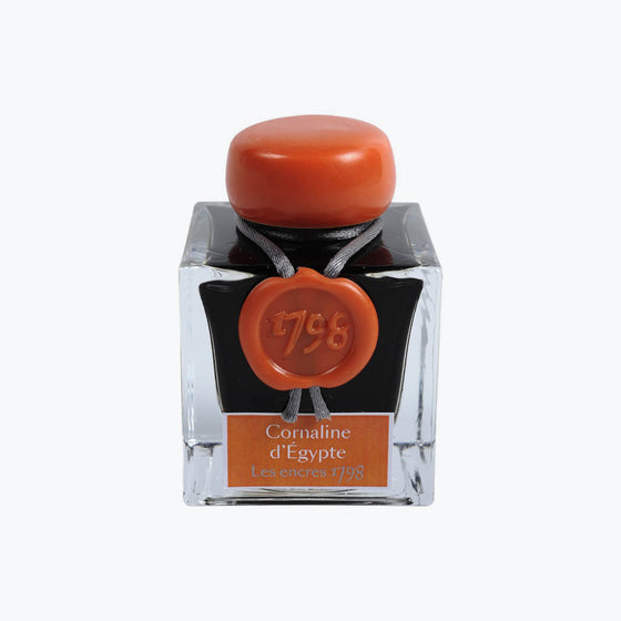 J. Herbin - Fountain Pen Ink - 1798 - Cornaline d'Egypte (Carnelian of Egypt)
