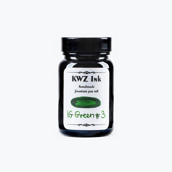 KWZ IG Green #3 iron gall ink