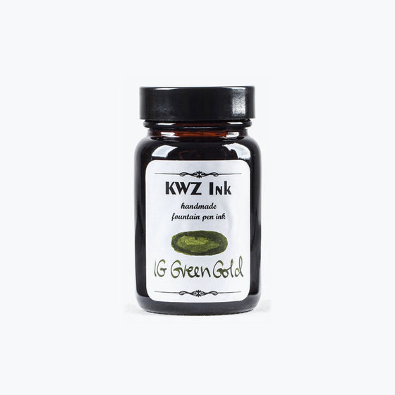 KWZ IG Green Gold iron gall ink