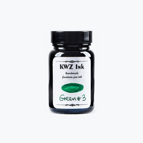 KWZ Green #3 fountain pen ink