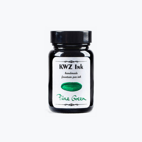 KWZ Pine Green fountain pen ink