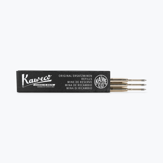 Kaweco - Ballpoint Refill G2 - Black 0.8 mm (Pack of 3)