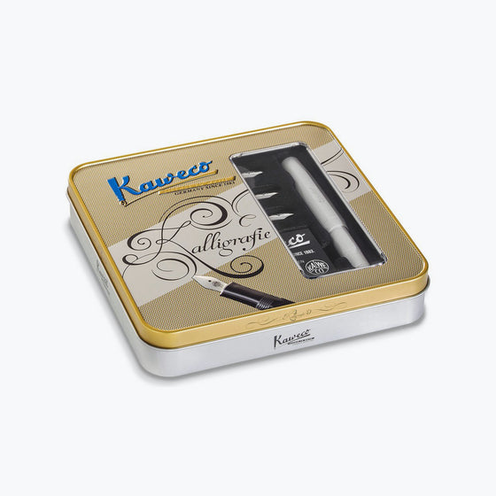Kaweco - Calligraphy Pen Set - Frosted Sport - Coconut