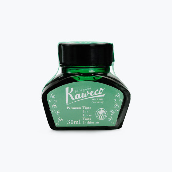 Kaweco - Fountain Pen Ink - Bottle - Palm Green