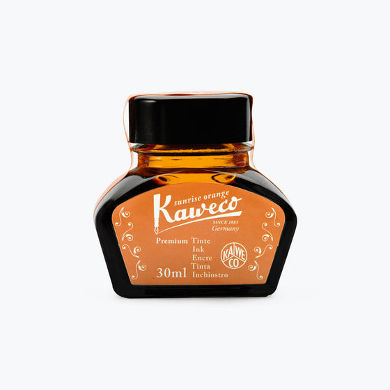 Kaweco - Fountain Pen Ink - Bottle - Sunrise Orange