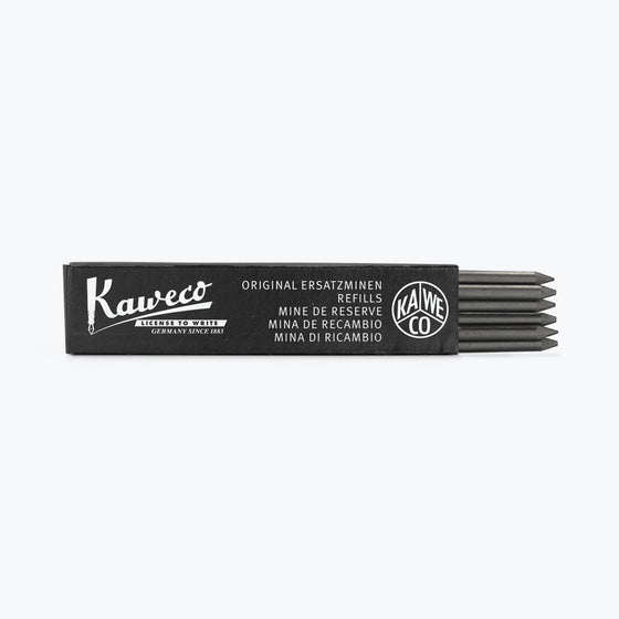 Kaweco - Graphite Leads - Black 3.2 mm 5B (Box of 6)