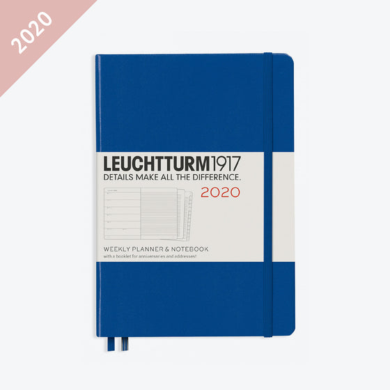 Leuchtturm1917 - 2020 Diary - Weekly Notebook - A5 - Royal (Hard)