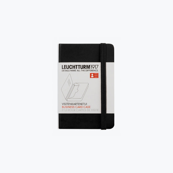 Leuchtturm1917 - Business Card Case - Black