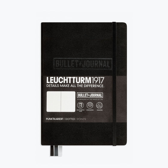 Leuchtturm1917 - Notebook - Bullet Journal - A5 - Black