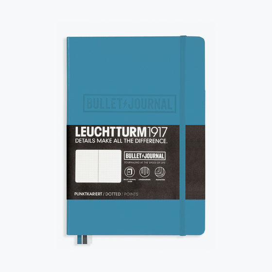 Leuchtturm1917 - Notebook - Bullet Journal - A5 - Nordic Blue