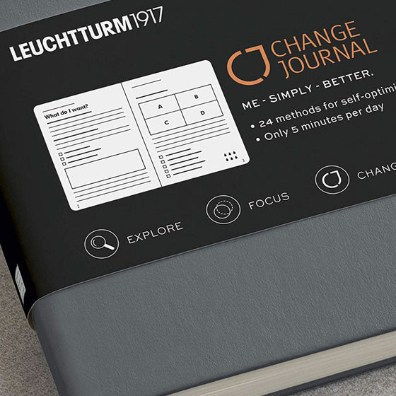 Leuchtturm1917 - Notebook - Change Journal - A5 - Berry