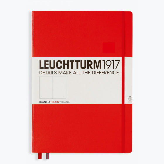 Leuchtturm1917 - Notebook - A4+ - Red
