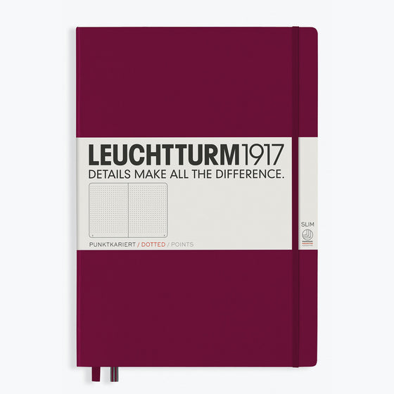 Leuchtturm1917 - Notebook - A4+ - Slim - Port Red