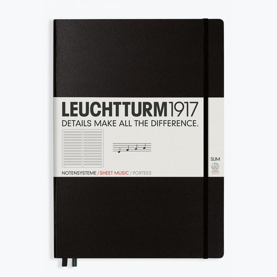 Leuchtturm1917 - Notebook - A4+ - Staves
