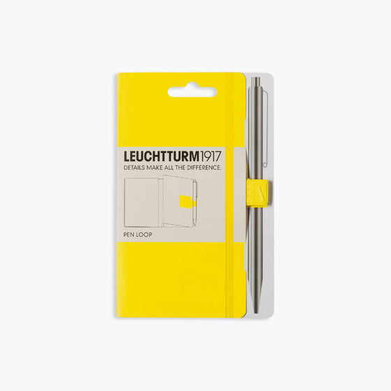 Leuchtturm1917 - Pen Loop - Lemon