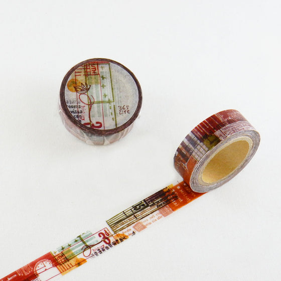 Round Top - Chamilgarden Design Washi Tape