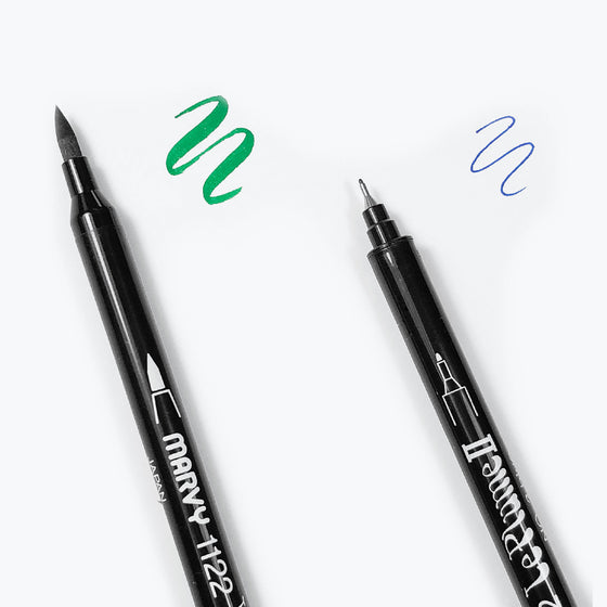 Marvy Uchida - Brush Pen - Le Plume II - Green #4