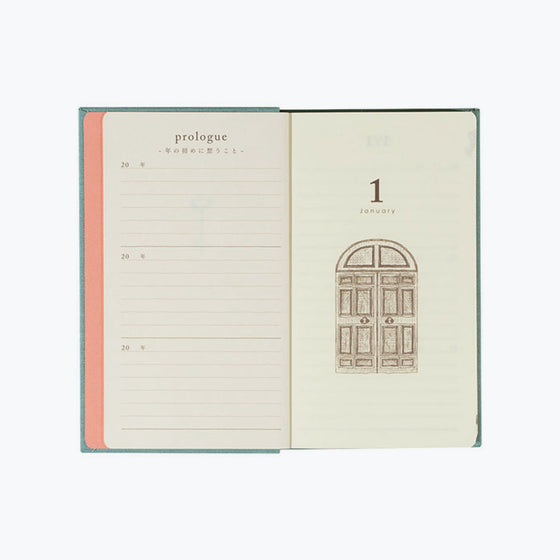 Midori - Daily Journal - 3 Years - Blue
