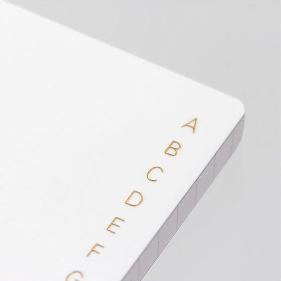 Midori - Notebook - Search Notes - A6 - White