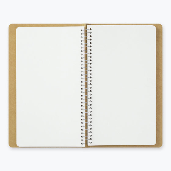 Midori - Notebook - Spiral Ring - A5 Slim - MD Paper White