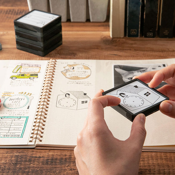 Midori - Stamp - Self-Inking - Book List