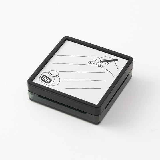 Midori - Stamp - Self-Inking - Writing