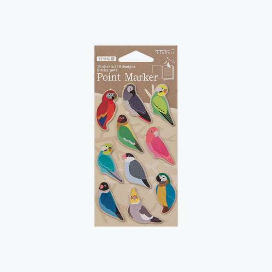 Midori - Sticker Seal - Point Marker - Bird