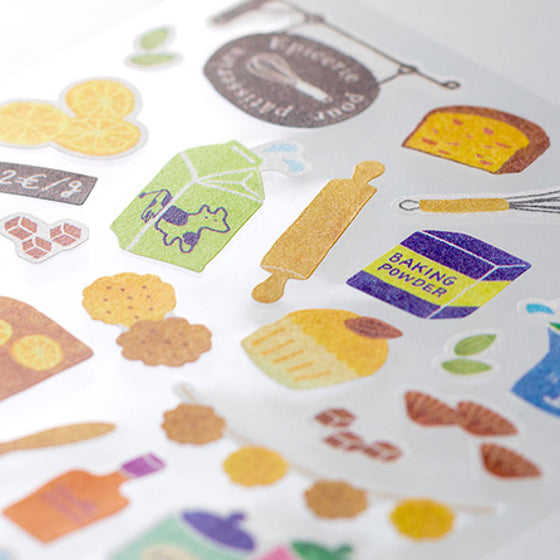 Midori - Sticker Seal - Sticker Marché - Sweets