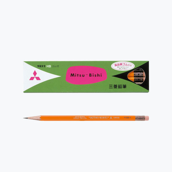 Mitsubishi - Pencil - 9852 (HB) - Box of 12