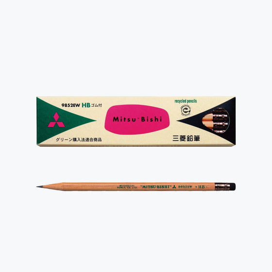 Mitsubishi - Pencil - 9852EW (HB) - Box of 12