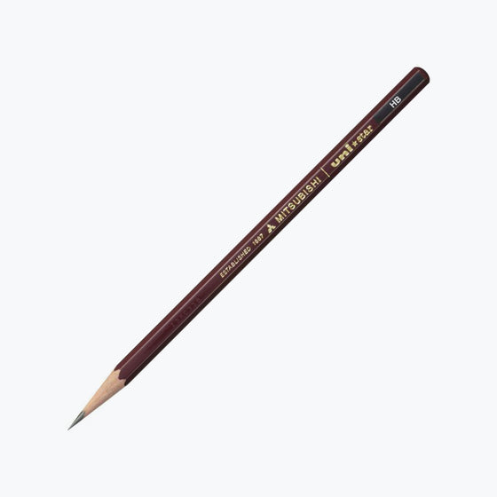 Mitsubishi - Pencil - uni-star (HB) - Pack of 2
