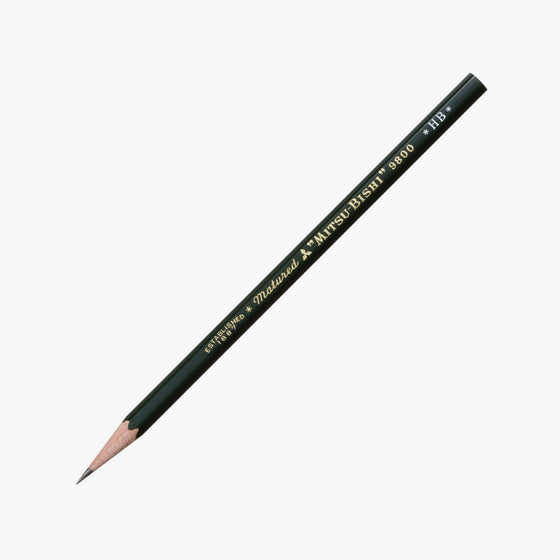 Mitsubishi - Pencil - 9800 (Various Grades) - Pack of 2