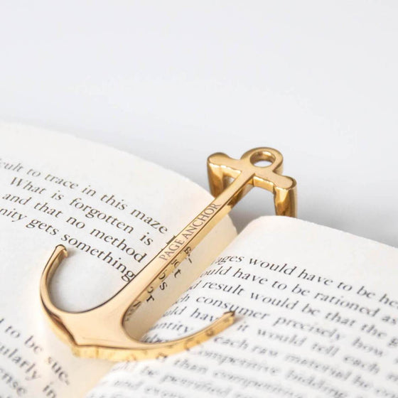 Page Anchor - Page Holder - Signature Gold
