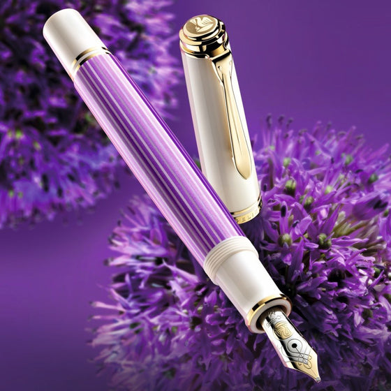Pelikan - Souverän M600 Fountain Pen - Violet-White