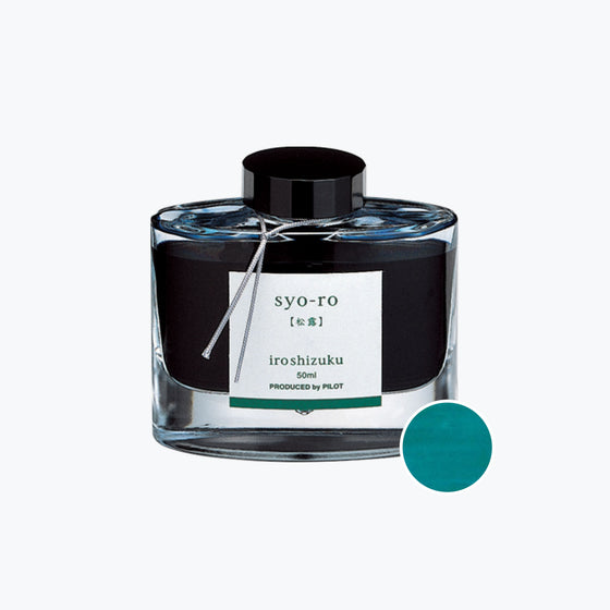 Pilot - Iroshizuku Ink - Dew On Pine Tree (Syo-ro)