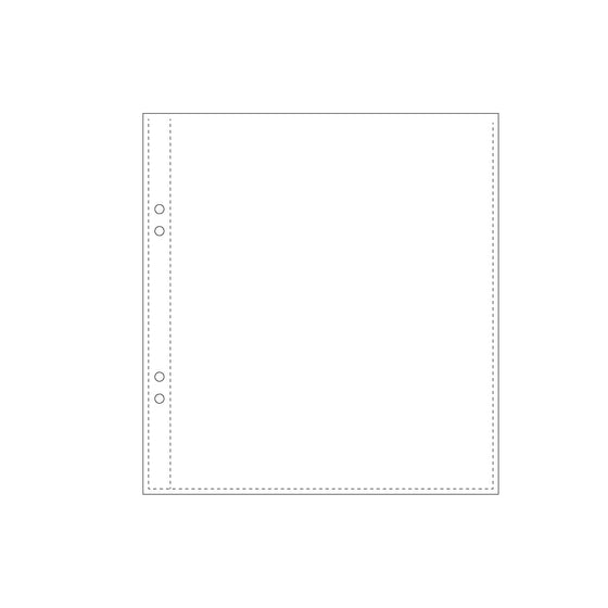 Bookbinders Design - Insert - Plastic Pocket - A6+