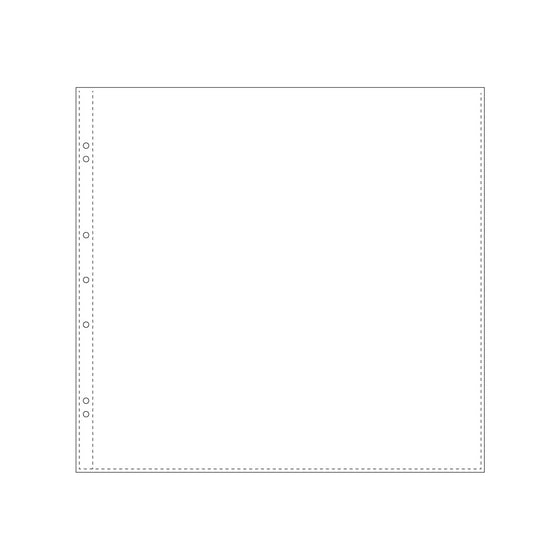 Bookbinders Design - Insert - Plastic Pocket - 340 x 315 mm