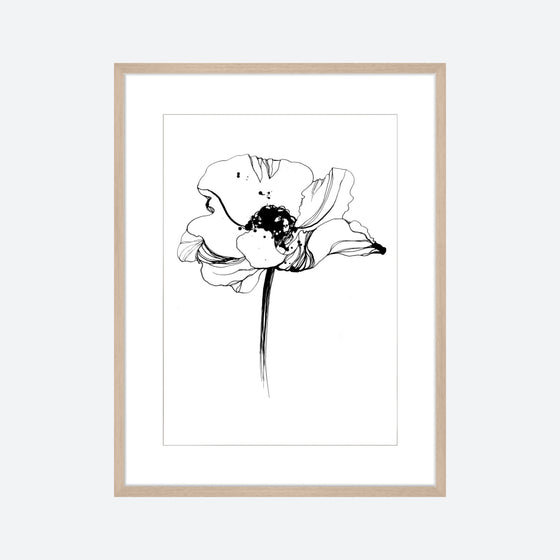 Toril Baekmark - Fine Art Prints - Black Flowers No.5
