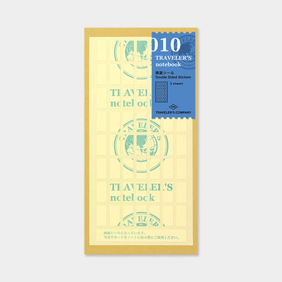 Traveler's Company - Accessories - Regular - 010 Double Sided Sticker