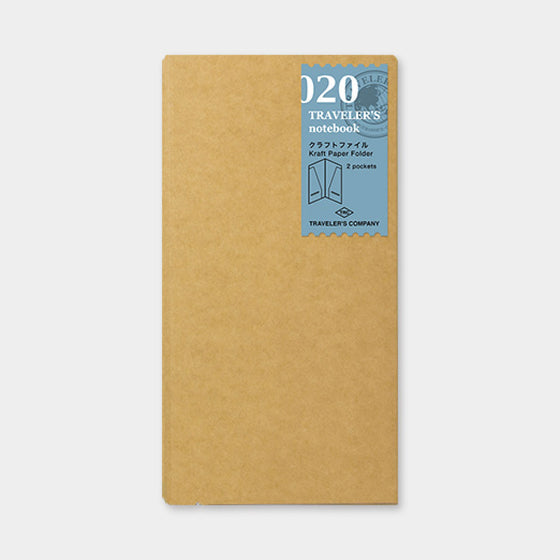 Traveler's Company - Accessories - Regular - 020 Kraft Paper Folder